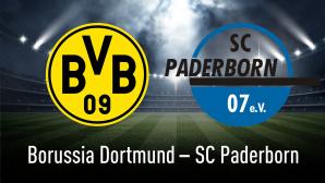 Bundesliga: Dortmund � SC Paderborn©efks-Fotolia.com, Borussia Dortmund, SC Paderborn