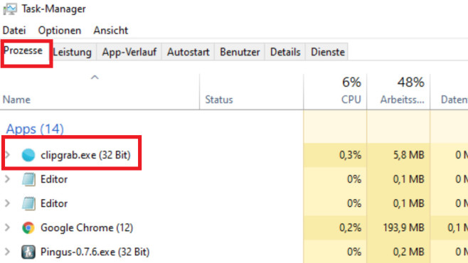 Windows 7/8/10: Läuft ein Programm mit 32 oder 64 Bit? Vier Checks©COMPUTER BILD