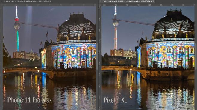 Google Pixel 4 Nachtsicht©COMPUTER BILD