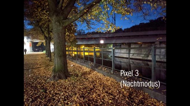 Pixel 3-Nachtsichtkamera©COMPUTER BILD