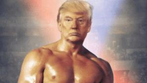 Twitter-Kanal: US-Pr�sident Donald Trump als Rocky©Twitter