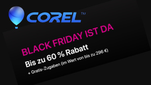 Black Friday bei Corel © Corel