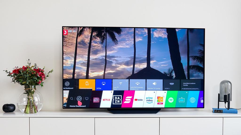 LG OLED B97LA: Der günstigste OLED-Fernseher im Test LG OLED65B97LA: Der OLED B9 gefällt nicht nur mit toller Bildqualität, sondern auch mit einem durchdachten Bedienkonzept.©LG Electronics, COMPUTER BILD