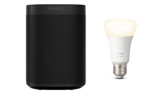 Philips Hue E27 & Sonos One © Tink