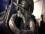 Neue Bilder zu Mass Effect Stahlblaue Augen und eiskaltes Gemüt: Die Maschinenrasse will die Menschheit ausradieren.