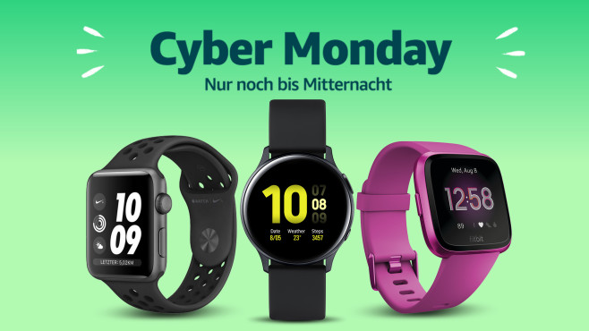 Cyber Monday: Saturn © Amazon, Fitbit, Apple, Samsung