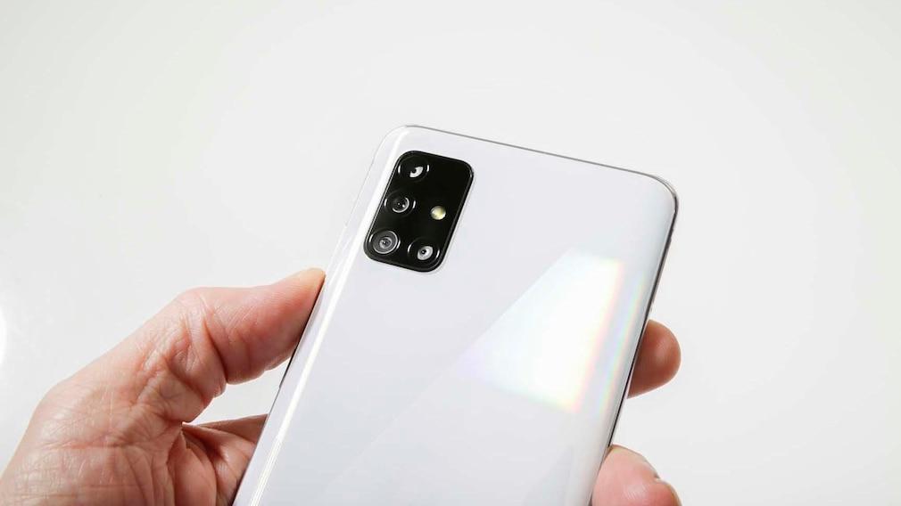 Samsung Galaxy A51: Kameras