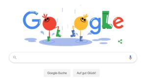 Google Doodle: Gummistiefel©Google