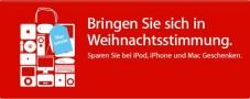 Apple: iPods, Computer und Zubehör (nicht) im Sonderangebot Am 30. November bietet Apple zahlreiche Produkte zu Sonderpreisen an, die aber meist nicht besonders sind.