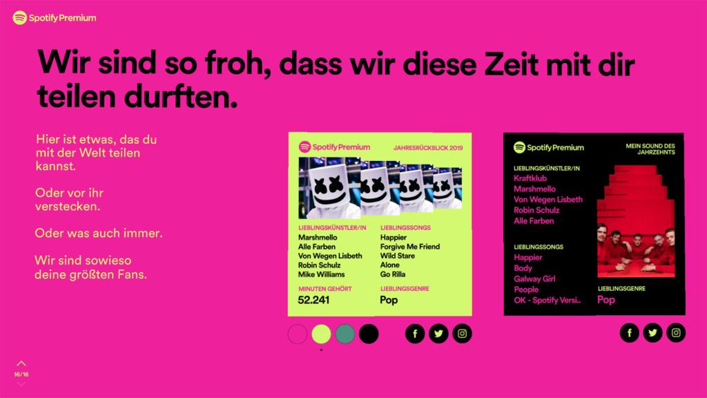 Spotify Wrapped 2019: Ihr musikalischer Jahresrückblick