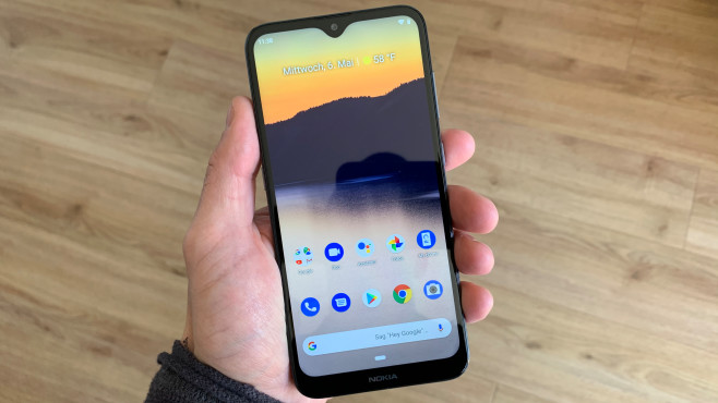 Nokia 2.3: Display mit Notch © COMPUTER BILD