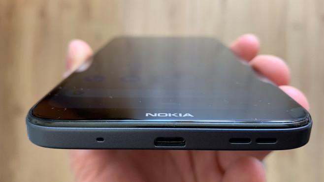 Nokia 2.3: Rückseite©COMPUTER BILD