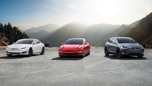 Tesla Fahrzeuge©Tesla