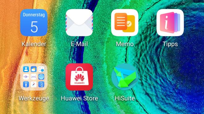 HiSuite App Symbol©COMPUTER BILD