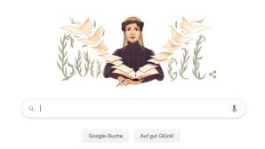 Google Doodle: Bertha von Suttner©Google