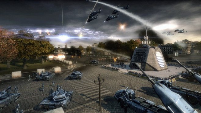 Strategiespiel Tom Clancy's Endwar: EMP