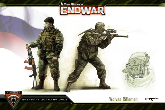 Strategiespiel Tom Clancy's Endwar: Russland