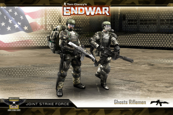 Strategiespiel Tom Clancy's Endwar: USA