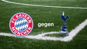 Champions League: FC Bayern München gegen Tottenham Hotspur©FC Bayern München, Tottenham Hotspur, Montage: COMPUTER BILD