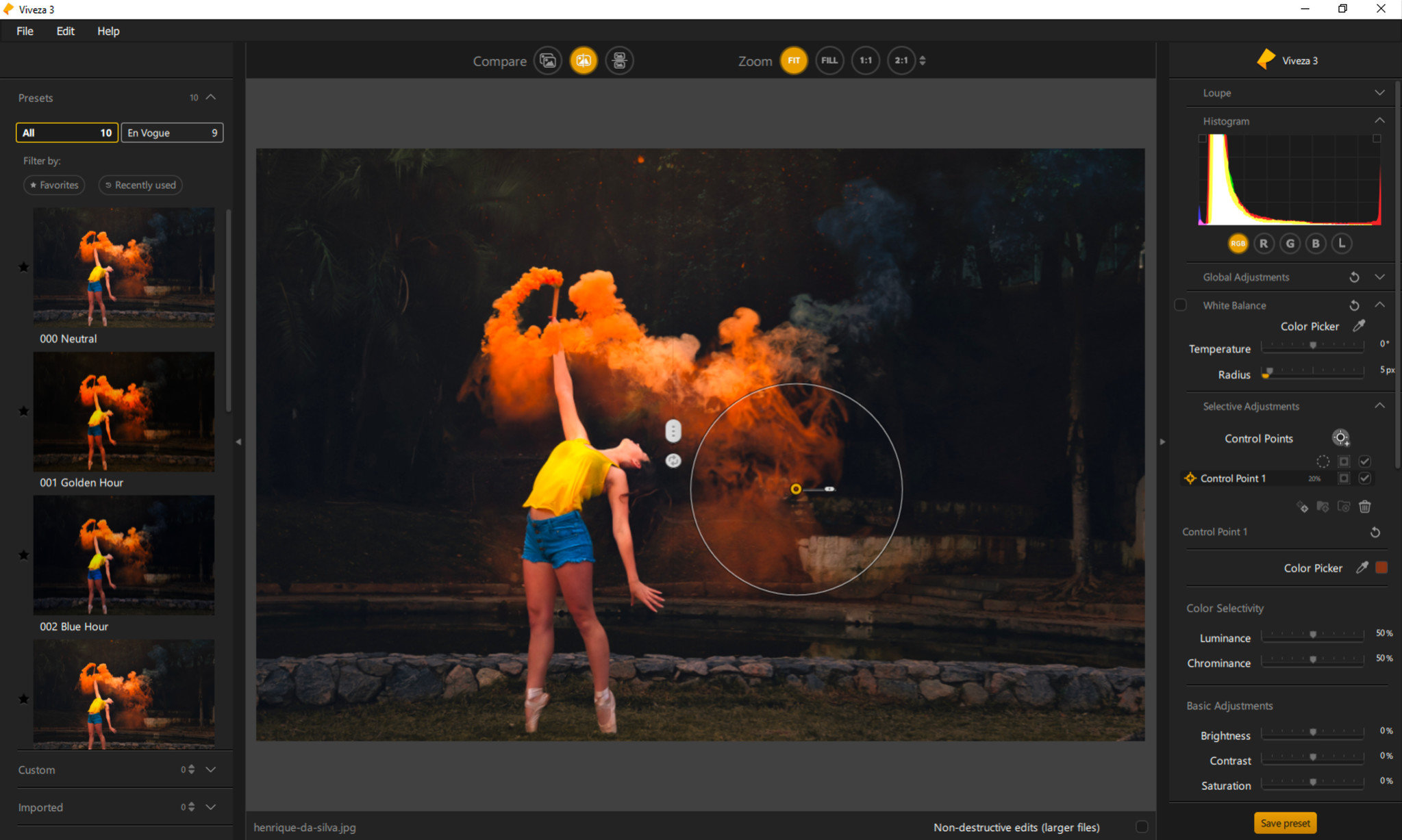 Screenshot 1 - Nik Collection 4 by DxO