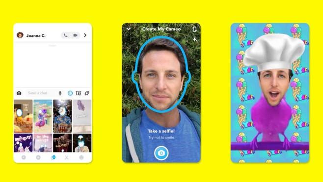 Snapchat Cameos©Snapchat