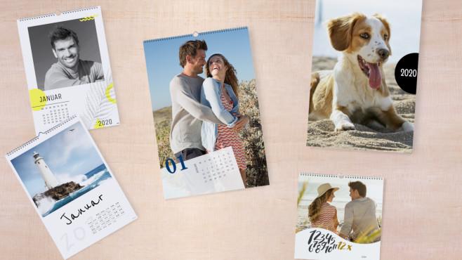 Cewe Wandkalender mit neuen Designvorlagen©Cewe