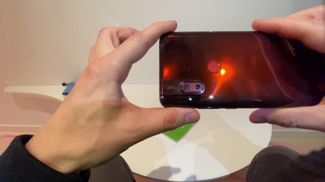 Motorola One Hyper Rückseitige Kamera©COMPUTER BILD