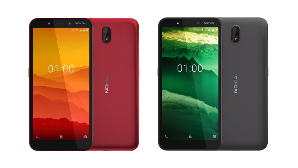 Nokia C1: Smartphone für 50 Euro vorgestellt