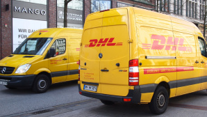 DHL-Lieferfahrzeuge©Paketda.de