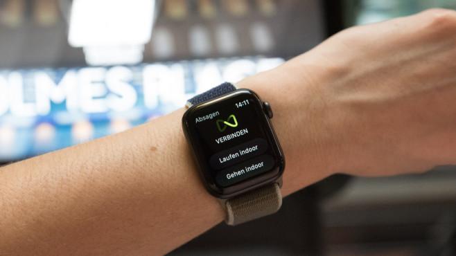 Apple Watch GymKit©COMPUTER BILD / Alena Zielinski, Holmes Place Hamburg Bahrenfeld
