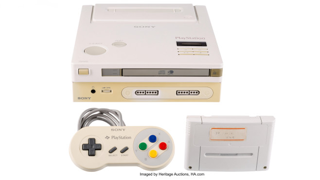 Nintendo PlayStation © Heritage Auctions