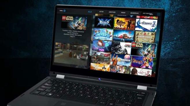 Erazer Cloud Gaming©Medion