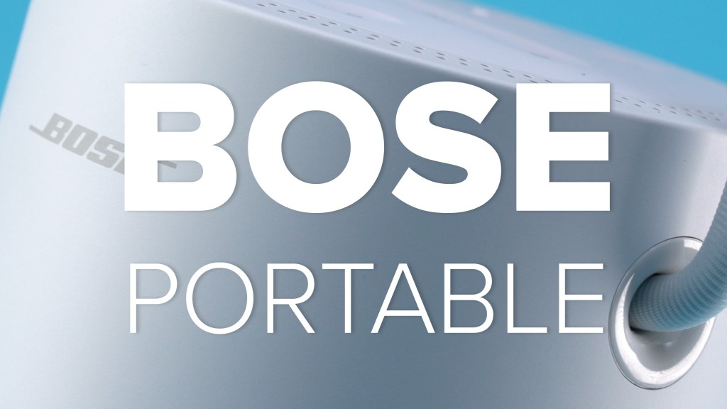 bose portable robuster lautsprecher im test audio video foto bild. Black Bedroom Furniture Sets. Home Design Ideas