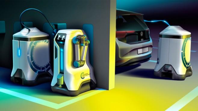 VW Lade-Roboter©Volkswagen AG