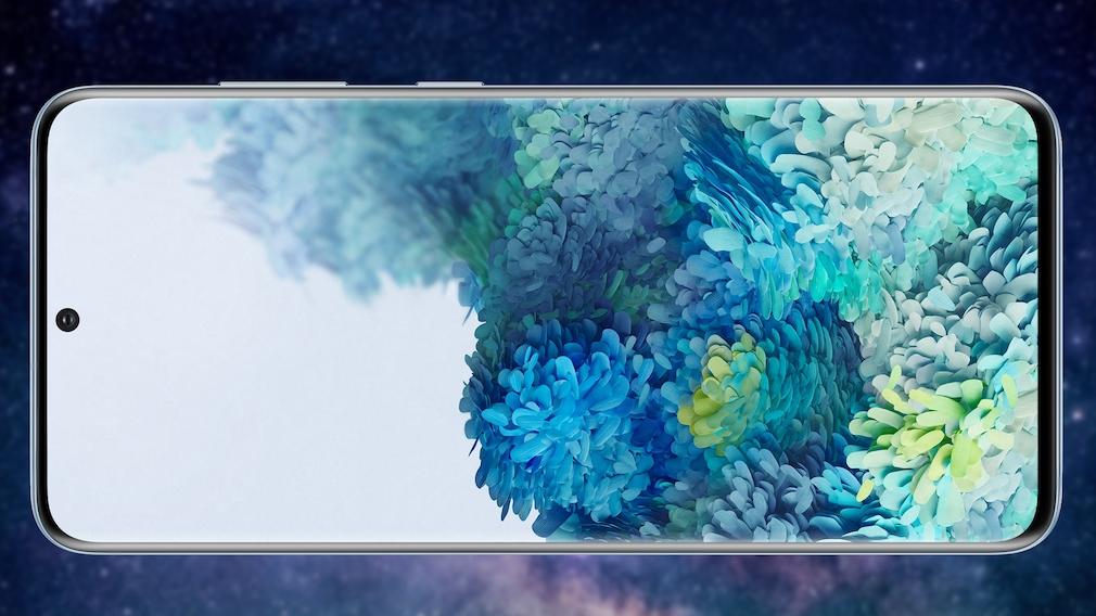 Samsung Galaxy S20: Breitbild-Seitenverhältnis