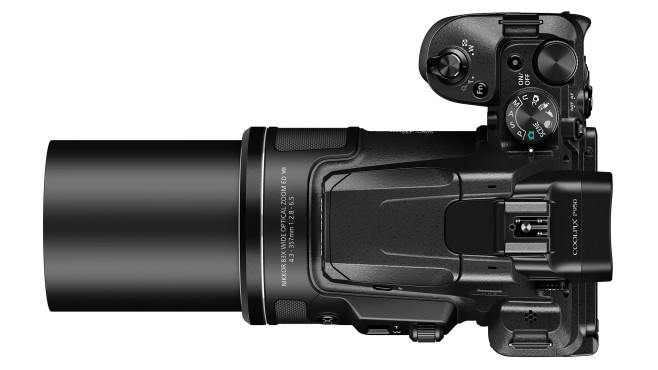 Nikon Coolpix P950 Zoom ausgefahren©Nikon