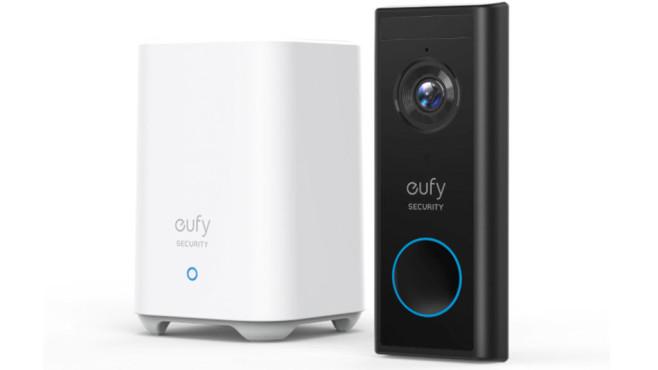 Die eufy Security Video Türklingel vor weißem Hintergrund©Anker