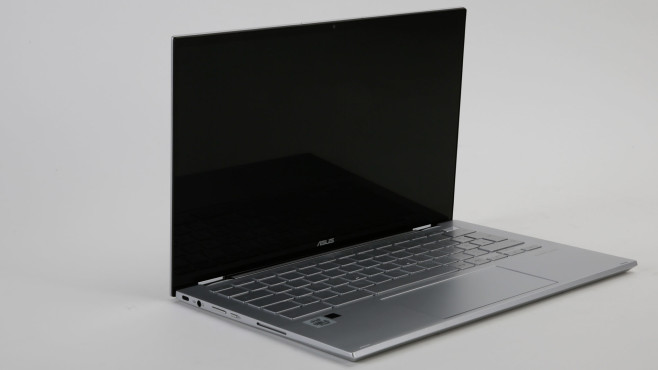 Asus Chromebook Flip C436 vor weißem Hintergrund©Asus