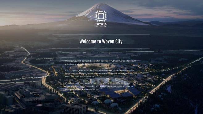Woven City©Toyota