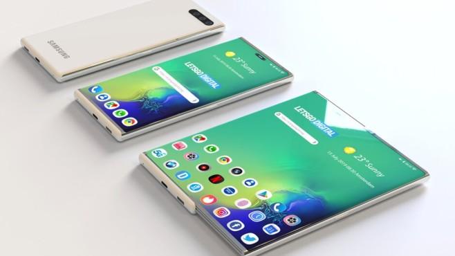 Das Samsung Slide-Out Display©Phonearena