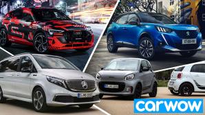 E-Autos 2020©Carwow, Audi, smart, Mercedes, Peugeot
