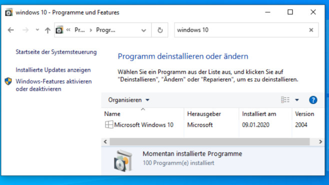 Windows 7/8/10: Kann man Windows deinstallieren? © COMPUTER BILD