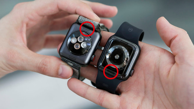 Apple Watch Armband wechseln©COMPUTER BILD