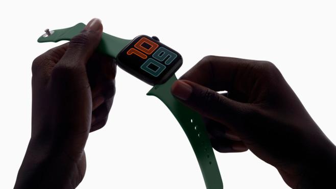 Apple Watch Armband wechseln©Apple