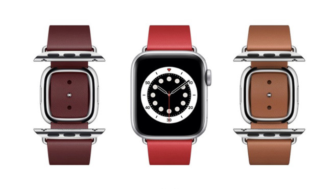 Apple Watch Leder Armband©Apple