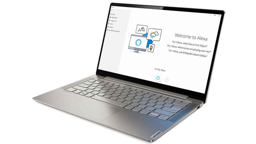 Lenovo Yoga S740 Test Des 14 Zoll Laptops Mit Alexa Computer Bild