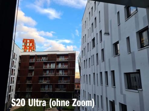 Galaxy S20 Ultra 1 x Zoom©COMPUTER BILD