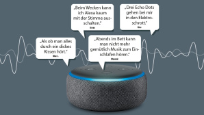 Amazon Echo klingt dumpf © Amazon
