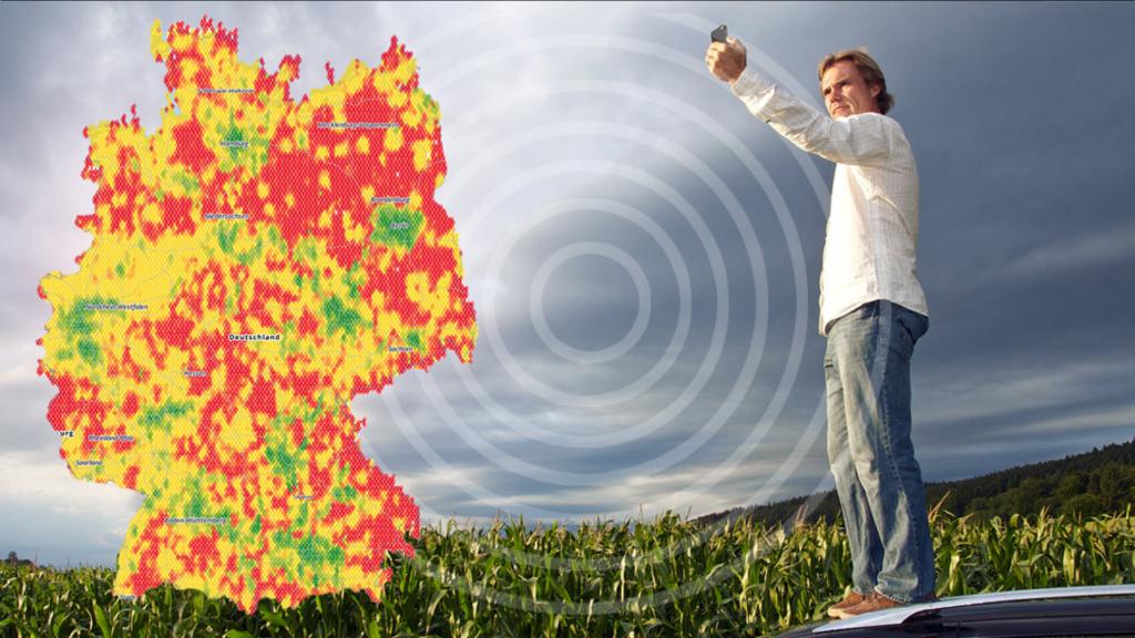 Grüne wollen Recht auf Mobilfunk: Funklöcher ade?