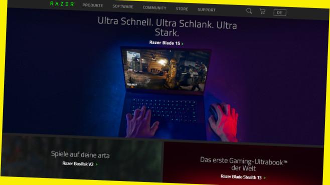Online-Gutschein für das Razer-Newsletter-Abo©Screenshot www.razer.com